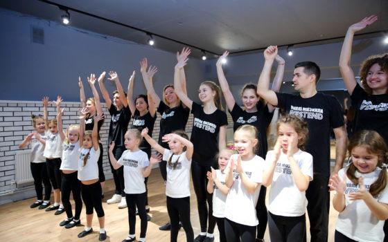 Открытый урок Школы мюзикла «Westend»