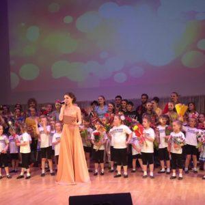 Отчетный концерт школы мюзикла Westend